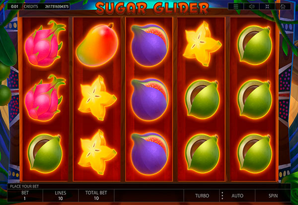 Sugar Glider 777 Slots Bay game