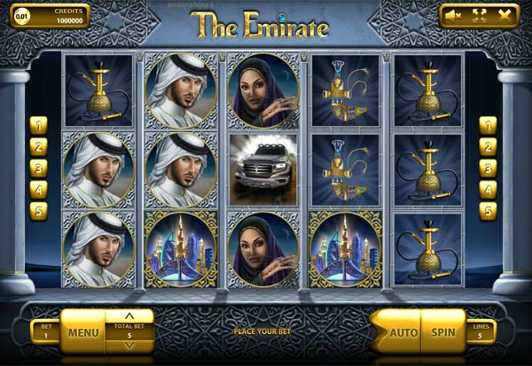 The Emirate 777 Slots Bay game