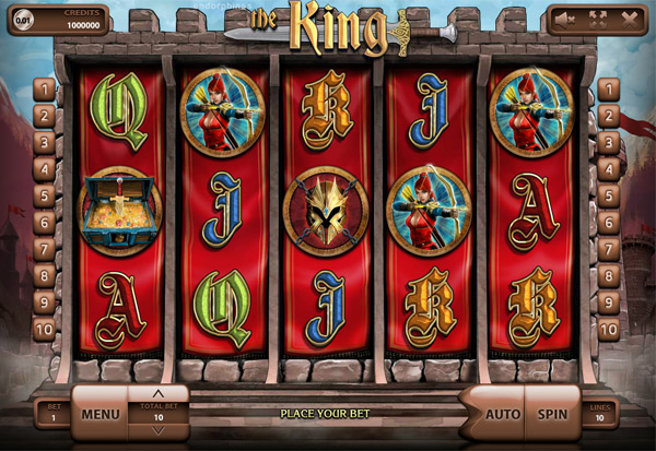 The King 777 Slots Bay game