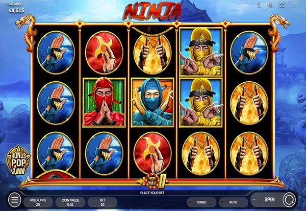 The Ninja 777 Slots Bay game