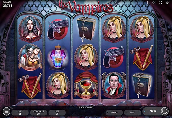 The Vampires 777 Slots Bay game