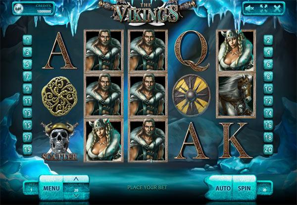 The Vikings 777 Slots Bay game