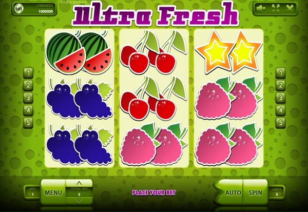 Ultra Fresh 777 Slots Bay game