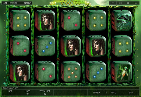 Voodoo Dice 777 Slots Bay game