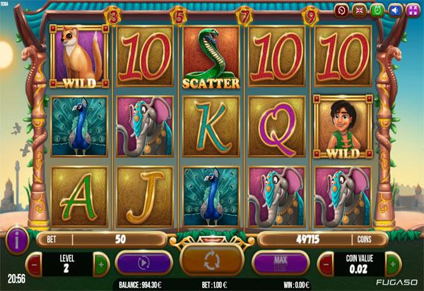 Brave Mongoose 777 Slots Bay game