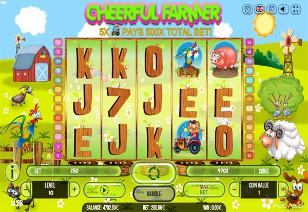 Cheerful Farmer 777 Slots Bay game