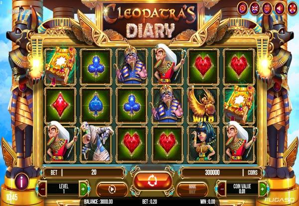Cleopatra's Diary 777 Slots Bay game