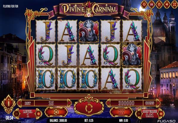 Divine Carnival 777 Slots Bay game