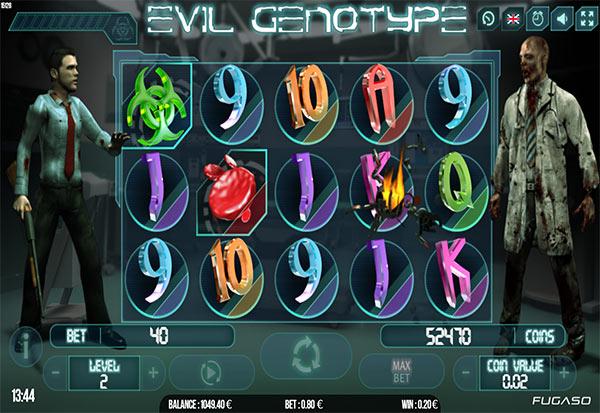 Evil Genotype 777 Slots Bay game