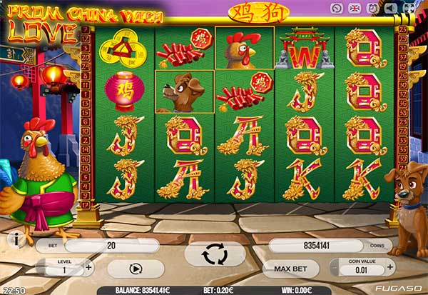 From China With Love 777 Slots Bay game