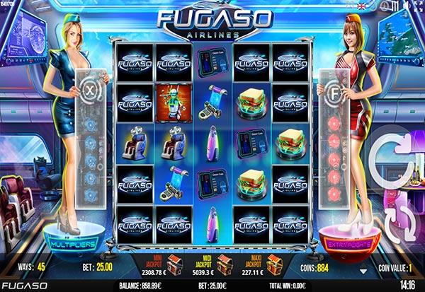 Fugaso Airlines 777 Slots Bay game