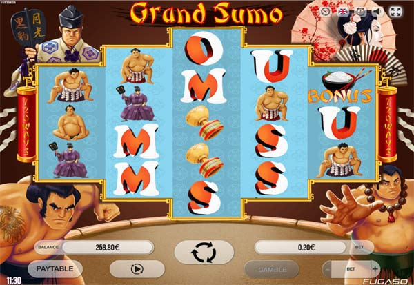 Grand Sumo 777 Slots Bay game