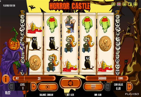 Horror Castle 777 Slots Bay game