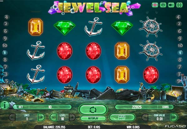 Jewel Sea 777 Slots Bay game