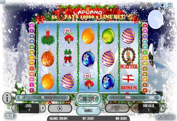 Lapland 777 Slots Bay game