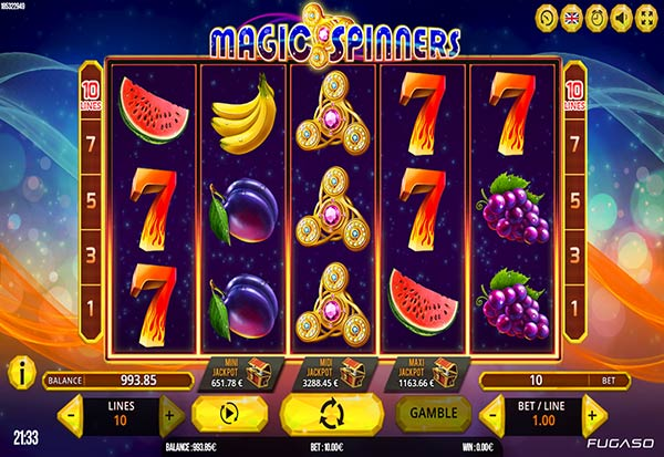 Magic Spinners 777 Slots Bay game