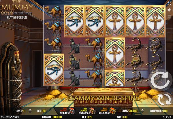Mummy 777 Slots Bay game