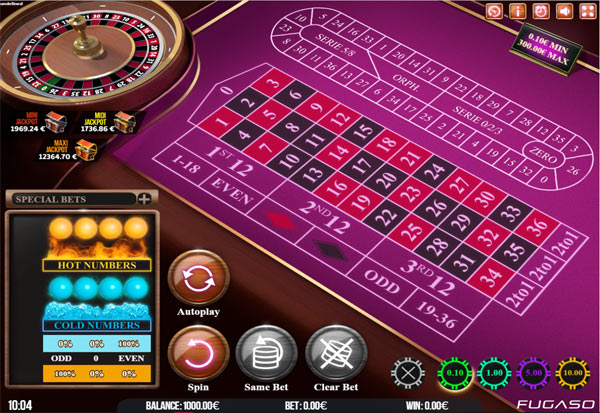 Neon Roulette 777 Slots Bay game