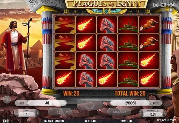 Plagues Of Egypt 777 Slots Bay game