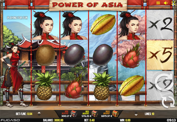 Power Of Asia 777 Slots Bay game