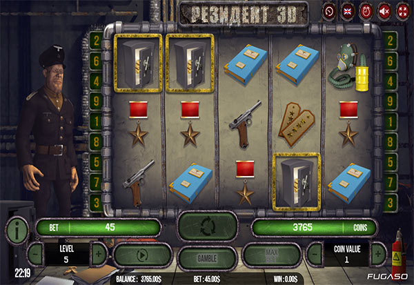 Resident 3D 777 Slots Bay game