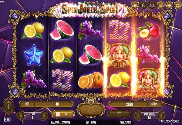 Spin Joker Spin 777 Slots Bay game