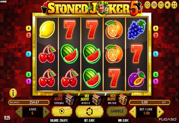 Stoned Joker 5 777 Slots Bay game