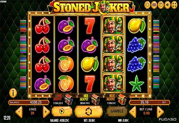 Stoned Joker 777 Slots Bay game