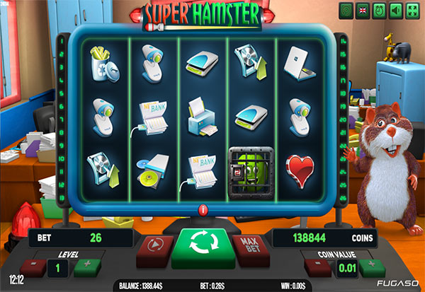 Super Hamster 777 Slots Bay game