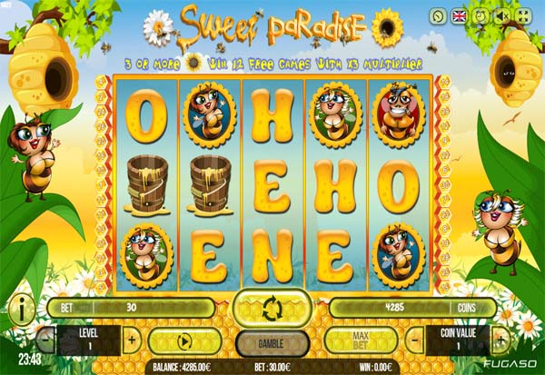 Sweet Paradise 777 Slots Bay game