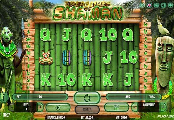 Treasure Of Shaman 777 Slots Bay game