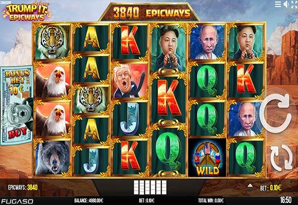 Trump It Deluxe Epicways 777 Slots Bay game