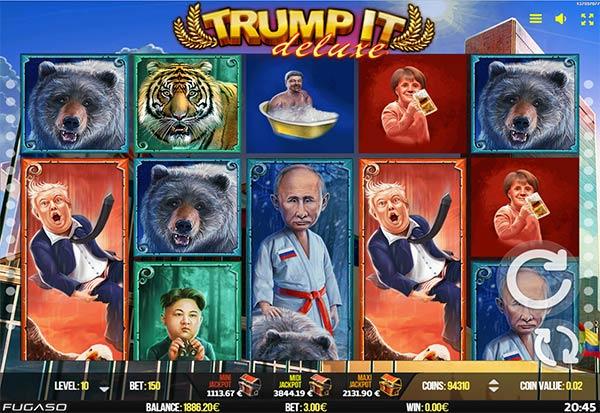 Trump It Deluxe 777 Slots Bay game