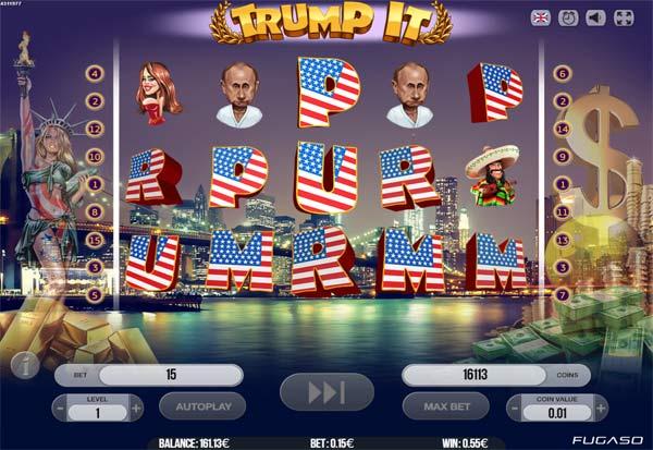 Trump It 777 Slots Bay game