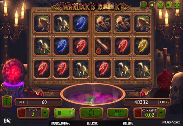 Warlock's Book 777 Slots Bay game