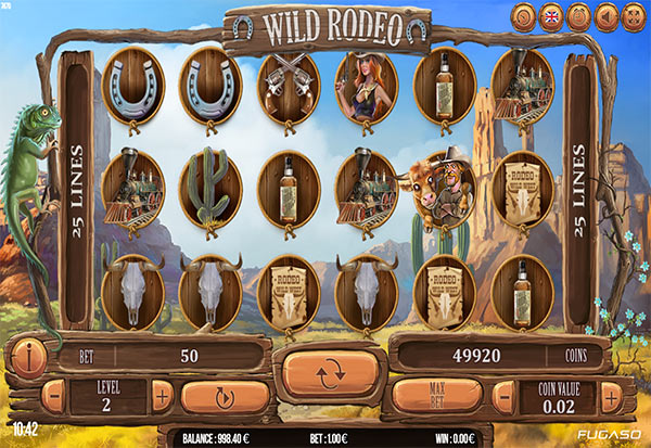 Wild Rodeo 777 Slots Bay game