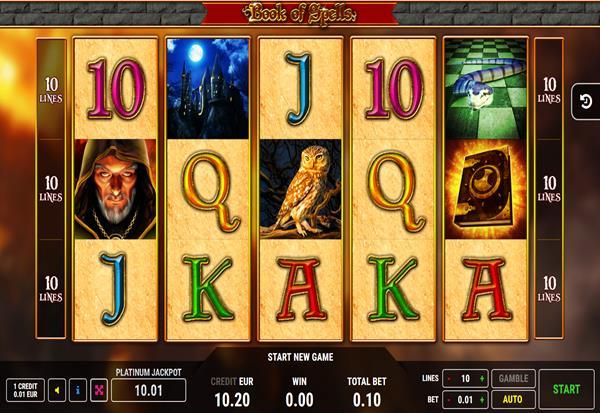 Book Of Spells 777 Slots Bay game