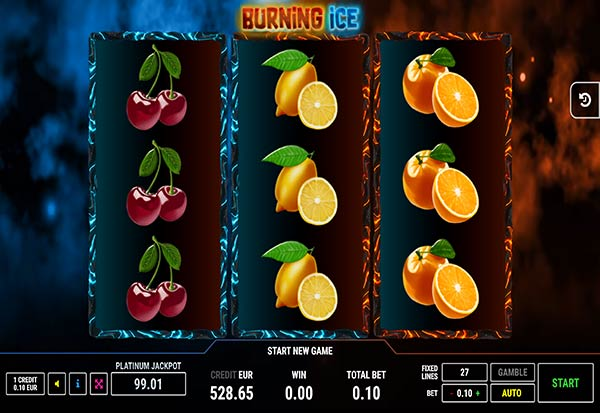 Burning Ice 777 Slots Bay game