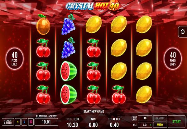 Crystal Hot 40 777 Slots Bay game