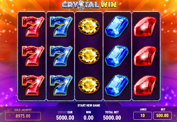 Crystal Win 777 Slots Bay game