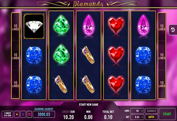 Diamonds 777 Slots Bay game