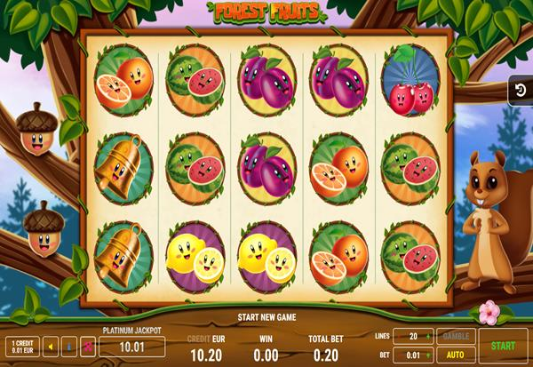 Forest Fruits 777 Slots Bay game