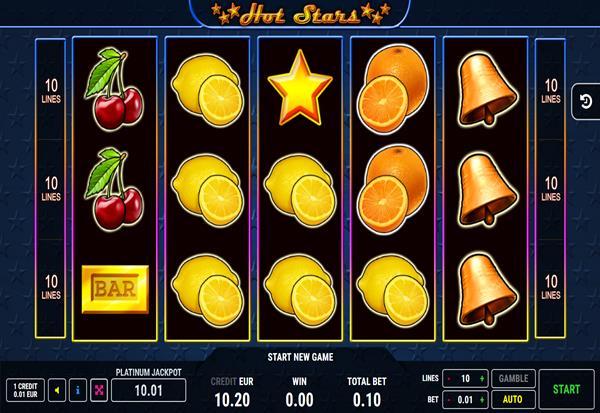 Hot Stars 777 Slots Bay game