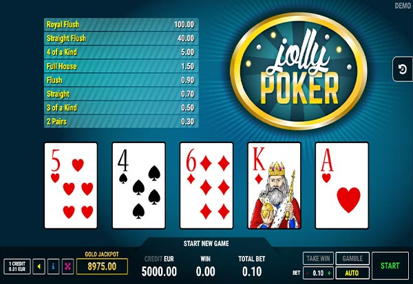 Jolly Poker 777 Slots Bay game