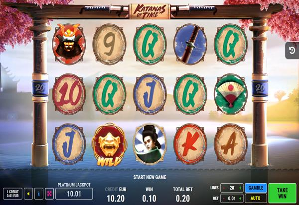 Katanas of Time 777 Slots Bay game