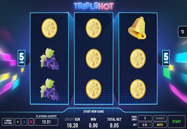 Retro 7 Hot 777 Slots Bay game