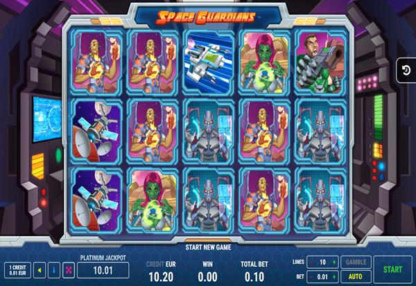 Space Guardians 777 Slots Bay game