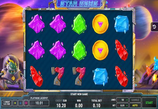 Star Gems 777 Slots Bay game