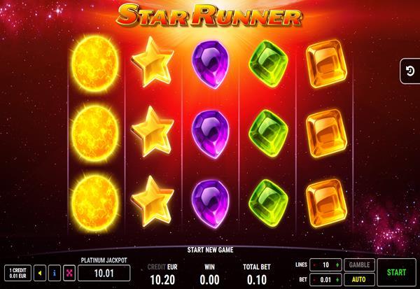 Star Runner 777 Slots Bay game