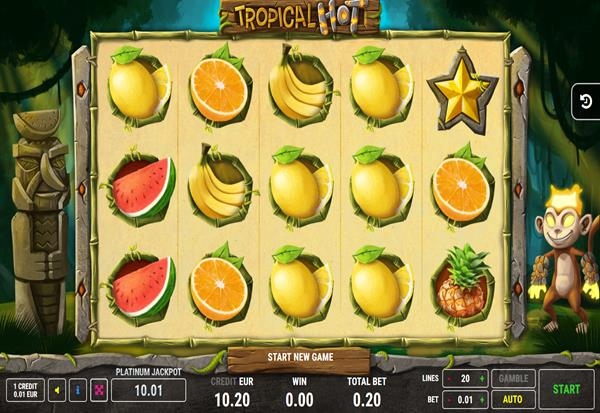 Tropical Hot 777 Slots Bay game